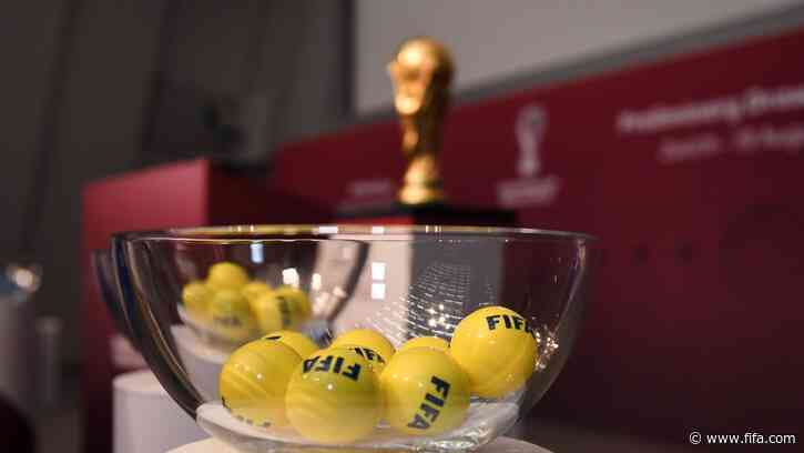 UEFA preliminary draw for FIFA World Cup 2022™: seeded teams confirmed
