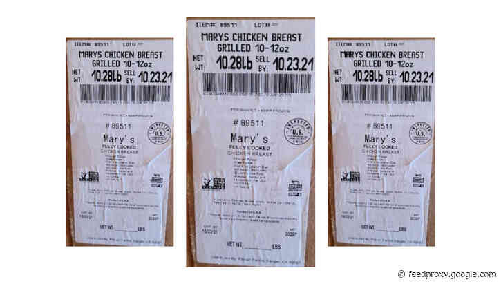 'Ready-to-eat' chicken may be undercooked; firm launches recall