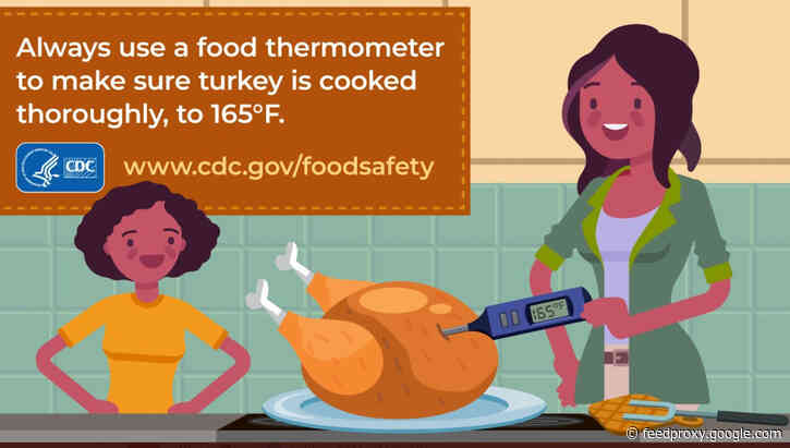 USDA shares easy at-home advice for Thanksgiving food safety