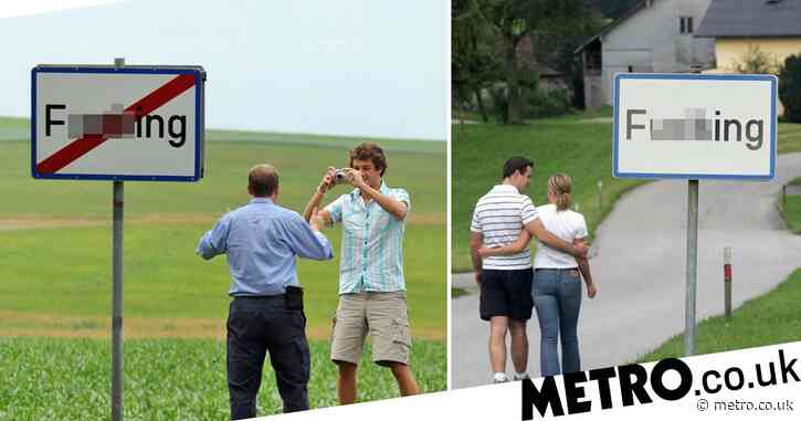 Village called 'F**king' changes name after tourists keep having sex by its sign