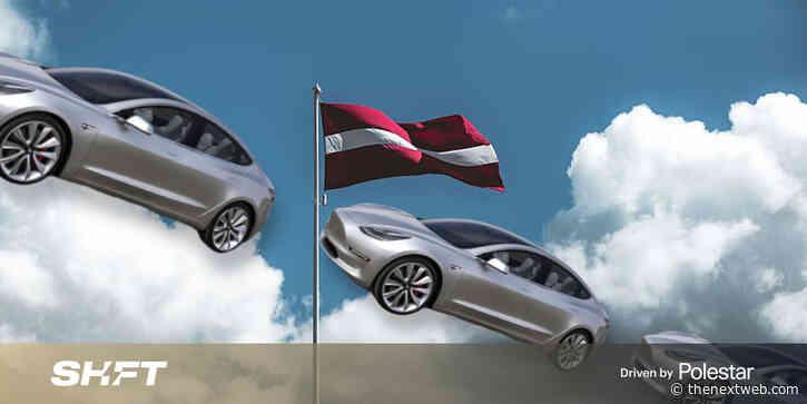 The EU's fastest growing EV market is — surprise! — Latvia!