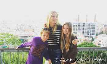 Gwyneth Paltrow surprises with rare photo of both her children