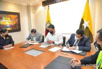 Autoridad de Tránsito de Samborondón firmó convenio con la CTE - Portal Extra