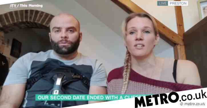 Man lucky to be alive after falling 200ft down mountain during second date: 'It was quite an experience living in fear'