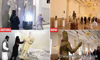 Mosul museum reopens four years after it was destroyed by ISIS