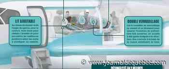 Une cabine de transport pour les malades