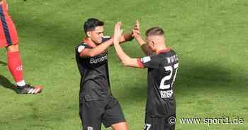 Bayer Leverkusen: Nadiem Amiri schwärmt von Florian Wirtz - SPORT1