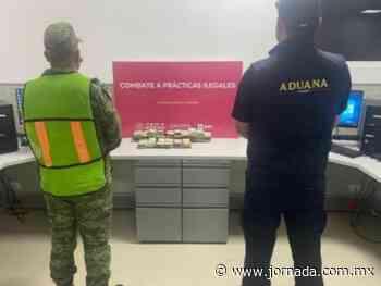 Decomisan 103 mil 490 dólares en aduana de Nuevo Laredo - La Jornada