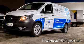 La Mercedes-Benz eVito isotermo refrigerada 100% eléctrica en el proyecto CIVITAS ECCENTRIC - valenciacars