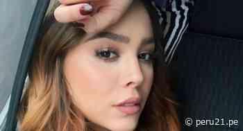 """""""María Mercedes"""": Danna Paola intenta responder una duda de la telenovela con la misma Thalía - Diario Perú21"""