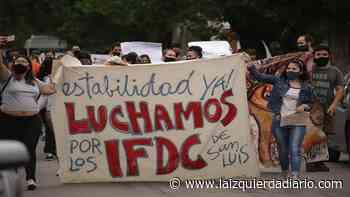 San Luis: Asamblea y movilización en el IFDC de Villa Mercedes - La Izquierda Diario