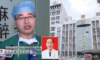 China organ harvesting: Four doctors are jailed for taking patients' liver and kidney illegally