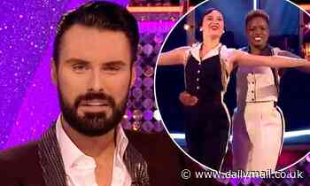 Rylan Clark-Neal credits Katya Jones and Nicola Adams for 'normalising' Strictly same sex couples