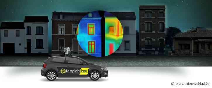 Thermocar komt huizen scannen in Koekelare op energieverlies