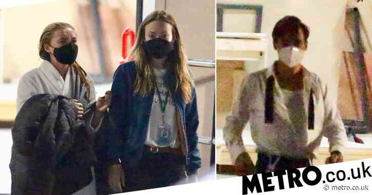 Harry Styles and Florence Pugh back on set of Olivia Wilde's next film Don't Worry Darling