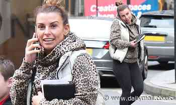 Coleen Rooney steps out amid libel battle with WAG rival Rebekah Vardy