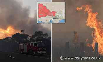 Total fire ban is issued for northern Victoria as emergency crews warn of 45C heat