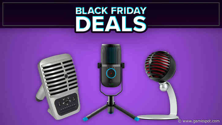 Best Black Friday Microphone Deals For Streaming And Working From Home
