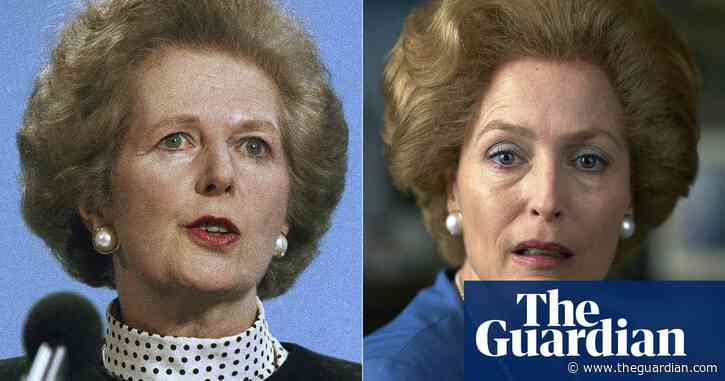 'A bit scary': Gillian Anderson's unnerving portrayal of Thatcher in The Crown