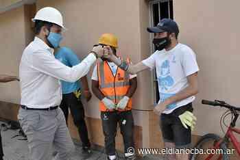 Gill recorrió obras en Laguna Larga y firmó convenios en Oncativo - El Diario del Centro del País