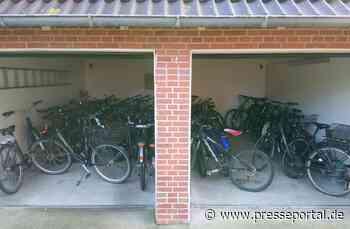 POL-FL: Sankt Peter-Ording: Diverse Fahrräder - teilweise aus Diebstählen stammend - durch Polizei... - Presseportal.de