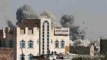 Saudi-led coalition bombards Yemen capital - Western Advocate