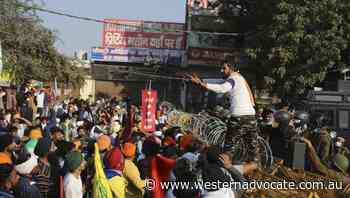 India police let farmer demo into capital - Western Advocate
