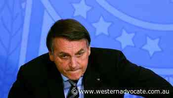 Bolsonaro says he won't take vaccine - Western Advocate