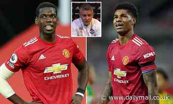 Paul Pogba and Marcus Rashford are doubts for Man United's trip to Southampton