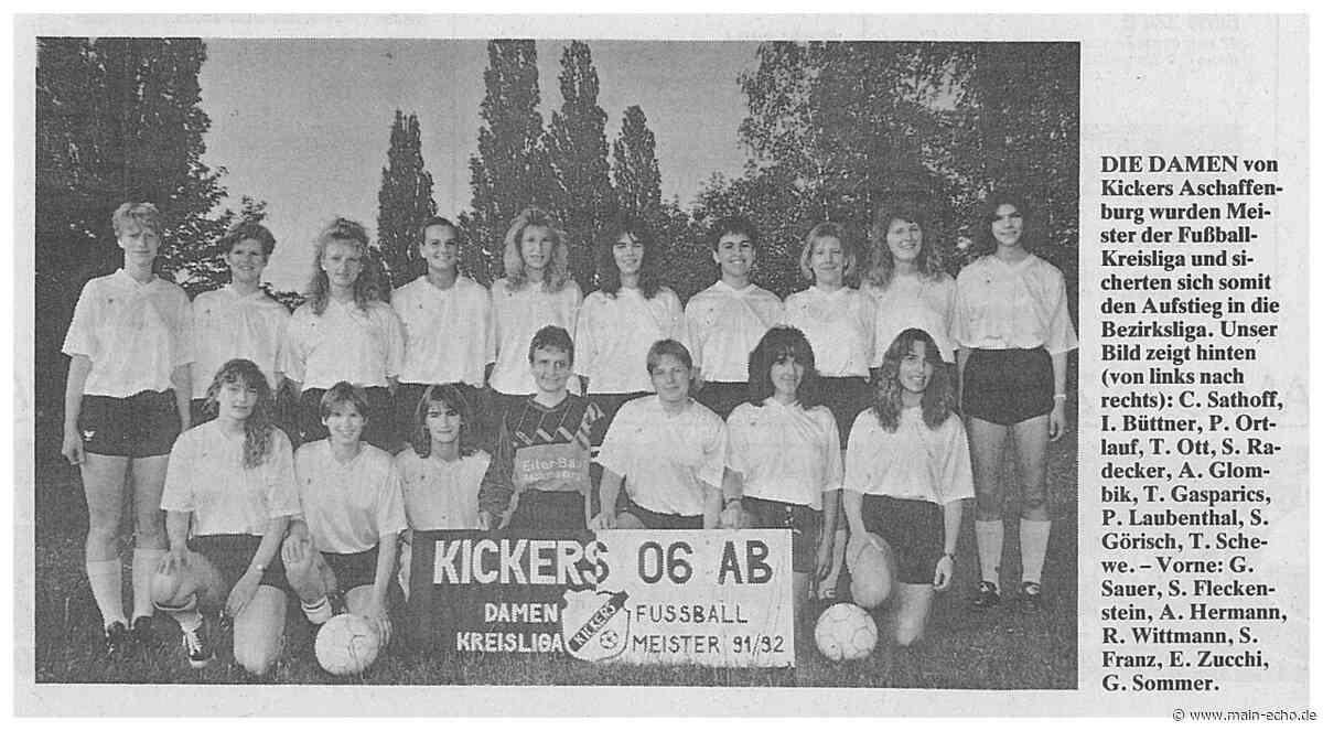 Aushängeschild und Rettungsanker: Bei Kickers Aschaffenburg spielen fast nur noch Frauen - Main-Echo