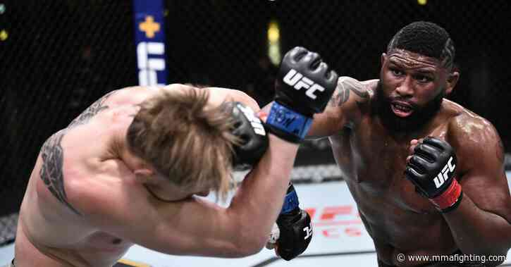 Curtis Blaydes vs. Derrick Lewis main event scrapped from UFC Vegas 15