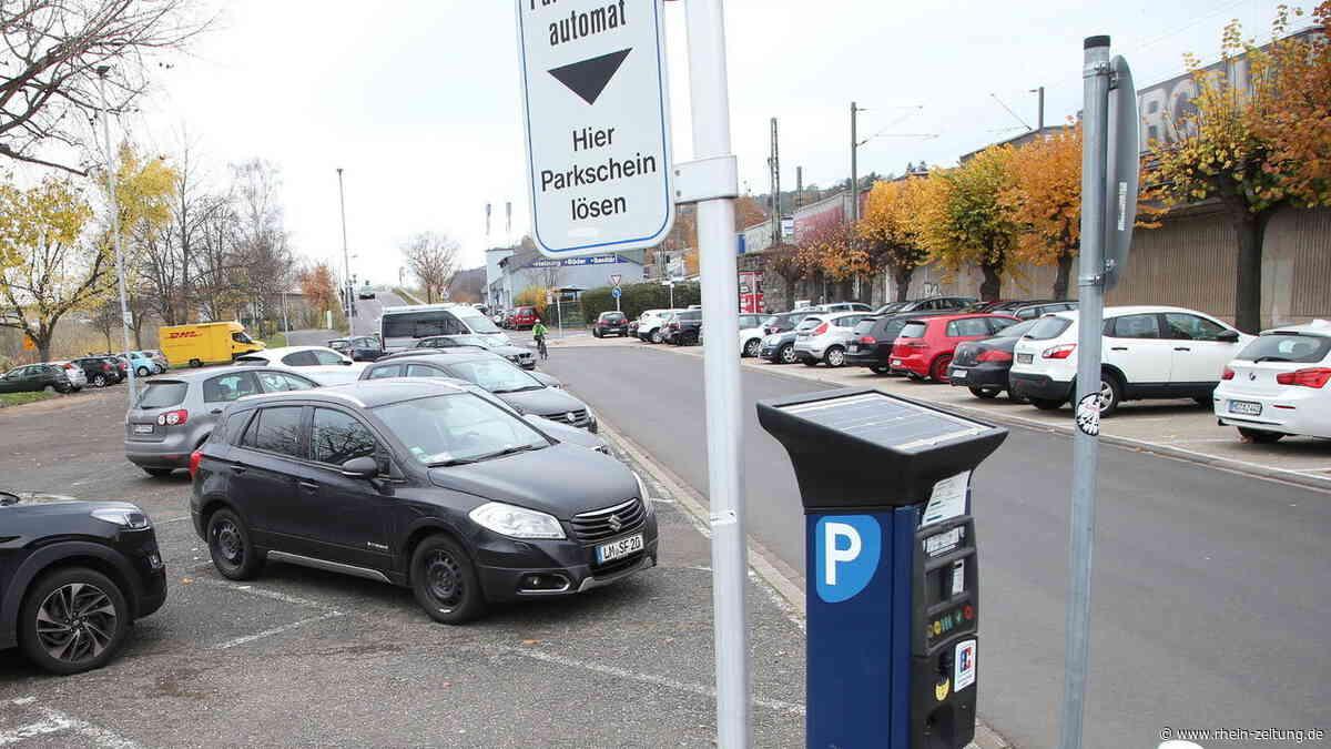 Parken in Vallendar: Kostenlos sind nur noch wenige Plätze - Rhein-Zeitung