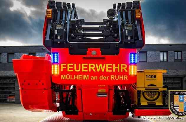 FW-MH: Zwei Einsätze zeitgleich für die Feuerwehr Mülheim an der Ruhr! Rauchmelder rettet zwei Bewohner!