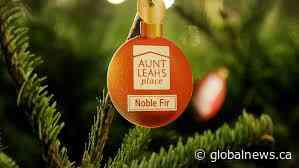 Global BC supports Aunt Leah's Charity Tree Lots