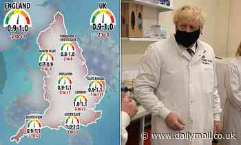 Tory rebels demand Boris Johnson rethink Covid tiers system as daily cases drop AGAIN to 16,022