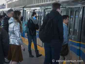 COVID-19: Masks now mandatory at sheltered bus, SkyTrain stations in Metro Vancouver
