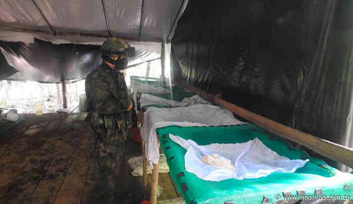 Desmantelan un complejo de cocaína del Eln en Tibú - La Opinión Cúcuta