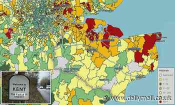 Coronavirus England: Map shows Tier 3 Kent's infection rates are low