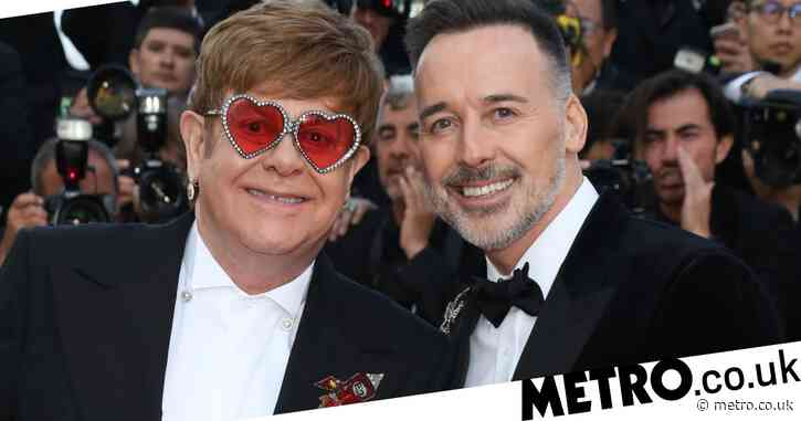 Sir Elton John and husband David Furnish lead winners at British LGBT Awards 2020