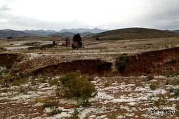 Potosí: Granizadas y heladas afectan a Betanzos - eju.tv