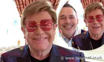 Sir Elton John and David Furnish give heartfelt speech at The British LGBT Awards 2020 as they win