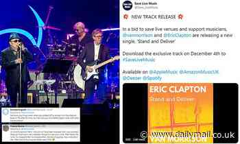 Eric Clapton and Van Morrison roasted for anti COVID lockdown song