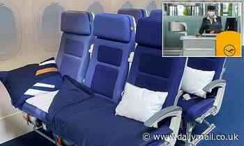 Lufthansa to allow economy passengers to buy rows of seats to lie on