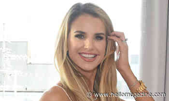 Vogue Williams shows off tanning results in chic bikini