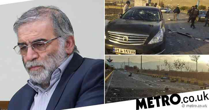 Iran's top nuclear scientist assassinated after car ambushed by gunmen
