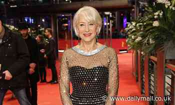 Dame Helen Mirren, 75, says she is 'fine' looking her age and rules out ever getting plastic surgery