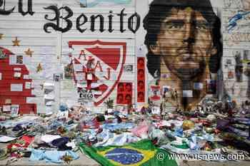 Maradona's Death Casts Long Shadow Around Argentina's Boca Juniors Stadium