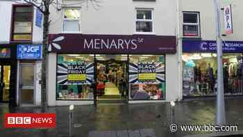 Coronavirus: Menarys to close three stores due to pandemic - BBC News