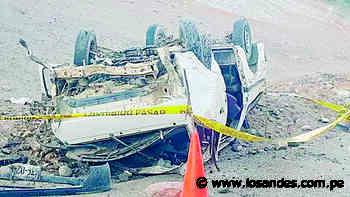 Auto cae a barranco y deja un muerto - Los Andes Perú
