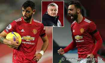Bruno Fernandes has missed just TWO Man United games since joining but is in danger of burnout